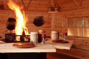 finnische grill kota zum mieten party location f r feier. Black Bedroom Furniture Sets. Home Design Ideas